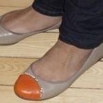 Mochico et souliers orange