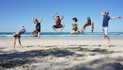 Byron Bay: maillot, pieds nus, pas plus compliqué