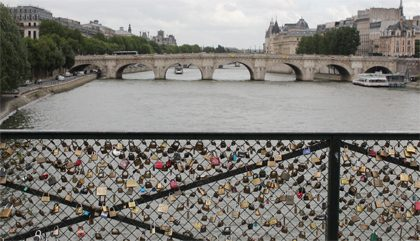 Paris en lovebirds