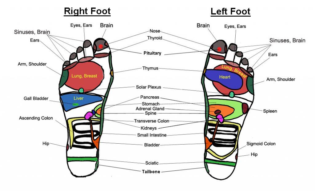 réflexologie, reflexology, pieds, massage, médecine chinoise
