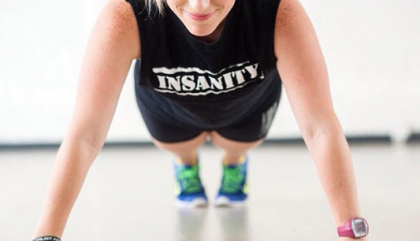 Va suer ta tourtière au Insanity Workout