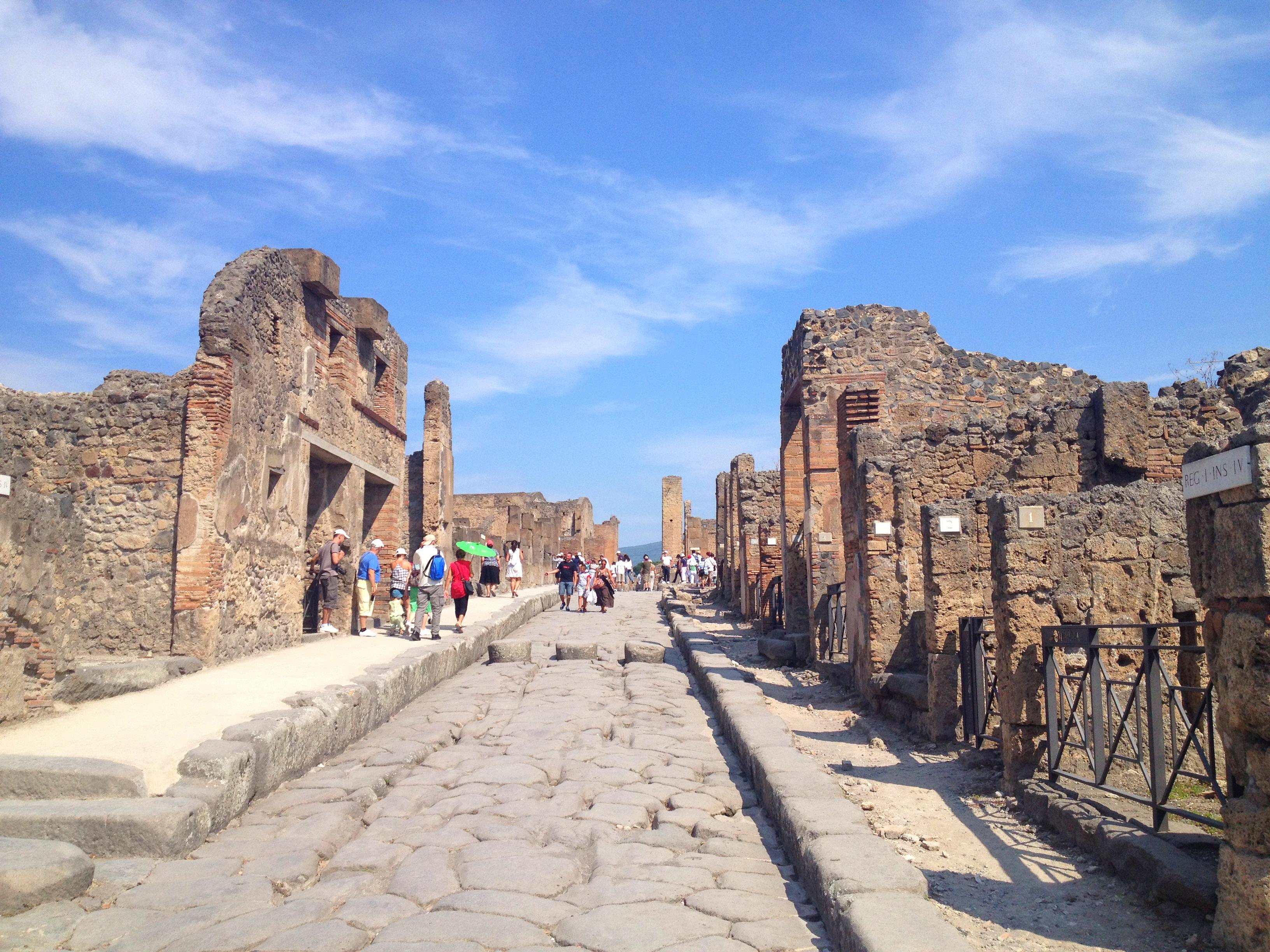 visite vésuve italie