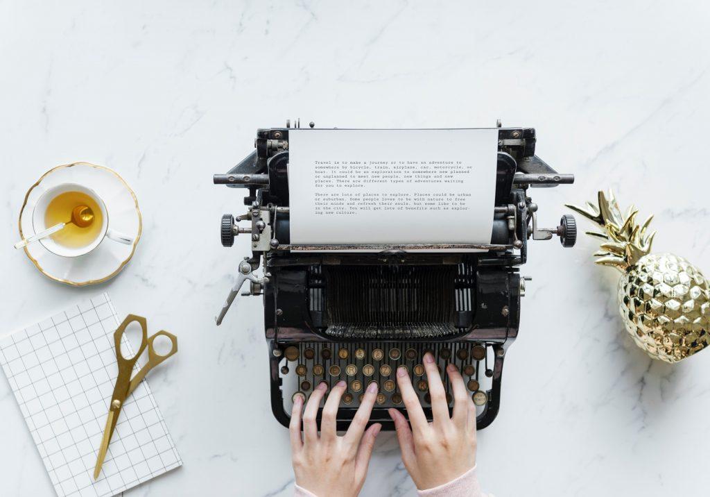 machine à écrire, typewriter