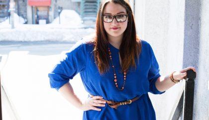 Look Addition Elle : La vie en bleu