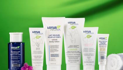 Au banc d'essai: les produits Lotus Aroma