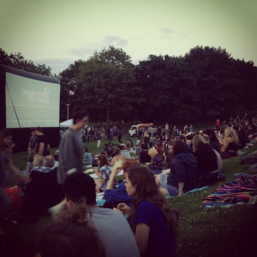 2 – Go to an outdoor movie night