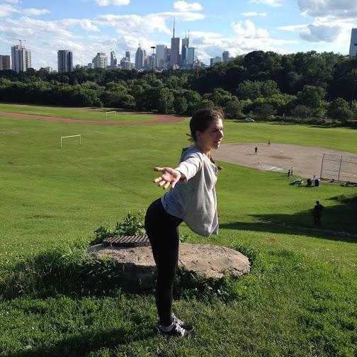 Yoga 5- Reverse Swan Dive Step 2