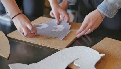 DIY: punaises pour babillard geek