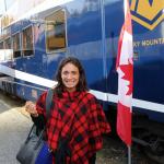 Voyage Cam dans l'Ouest – le train