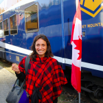 Cam's Trip In Western Canada: The Train