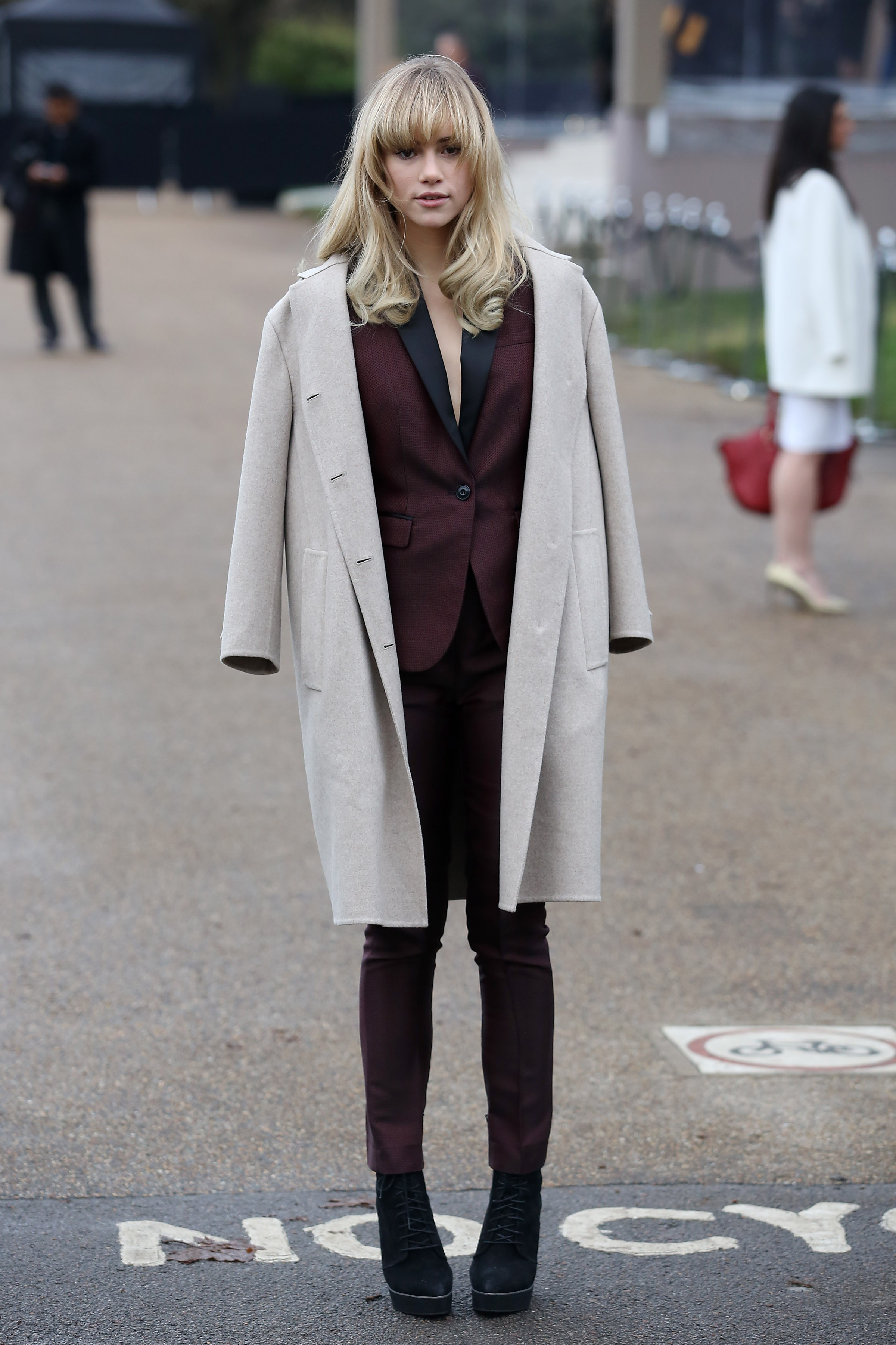 Celebrity Sightings In London - January 8, 2014