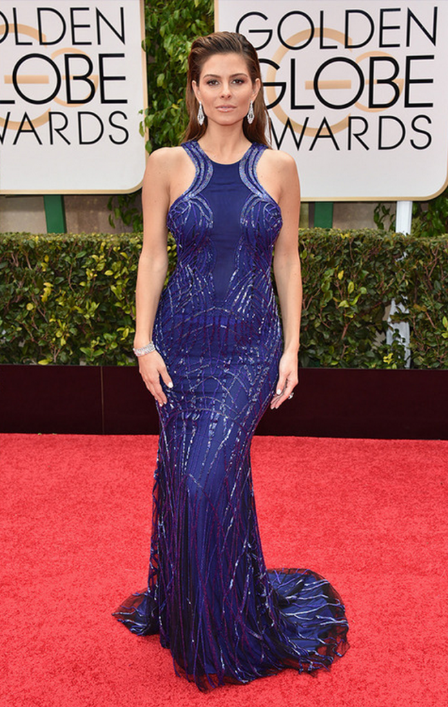 maria menouos, golden globes, tapis rouge, best outfit, worst outfit, vedette, star, chic, glam