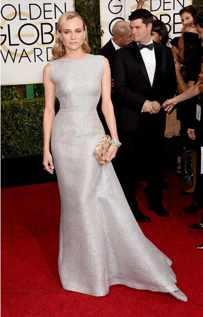 diane gruger, golden globes, tapis rouge, best outfit, worst outfit, vedette, star, chic, glam