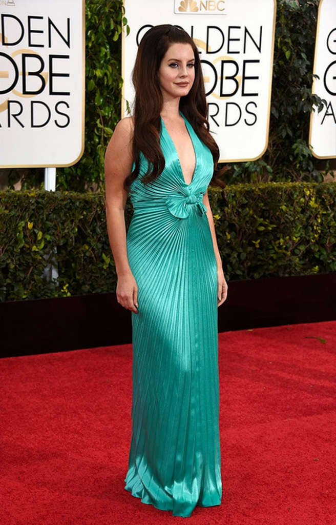 golden globes, tapis rouge, best outfit, worst outfit, vedette, star, chic, glam, lana del ray