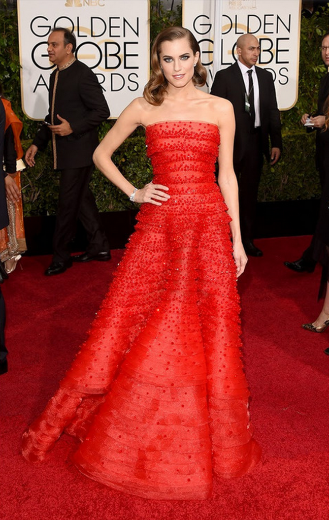 allison wiliams, golden globes, tapis rouge, best outfit, worst outfit, vedette, star, chic, glam