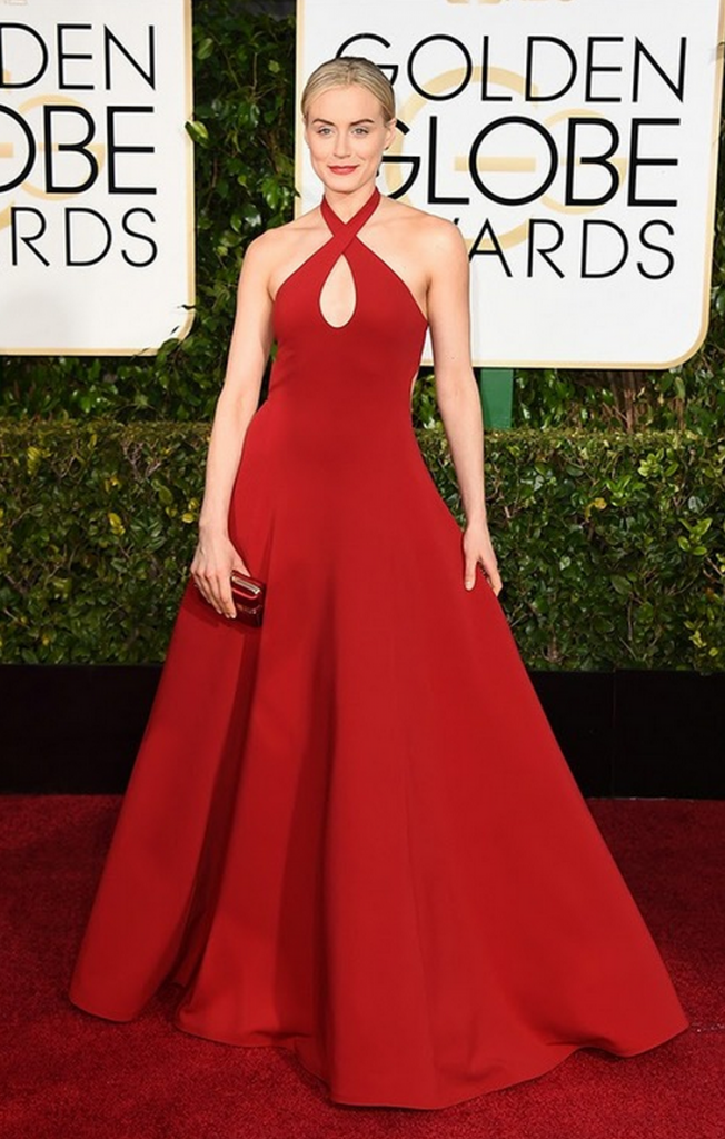 taylor shilling, golden globes, tapis rouge, best outfit, worst outfit, vedette, star, chic, glam