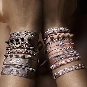 les interchangeable, audrey bot, swarovski, bracelet, bijou, test,  impression,