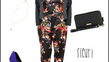 Tendance florale – Taille +