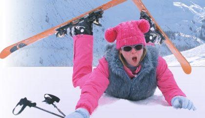 Ski chic, le froid inspire de beaux cheveux!