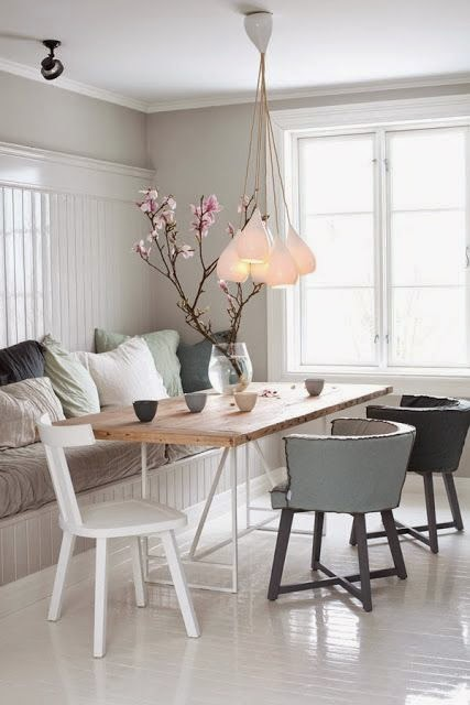 La parfaite chambre scandinave le cahier - Trendy deco eetkamer ...