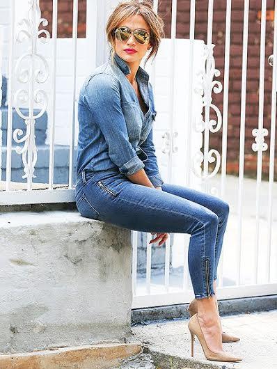 a2b20bc2405c4 Chemise en jean femme comment la porter   Fisysconsulting