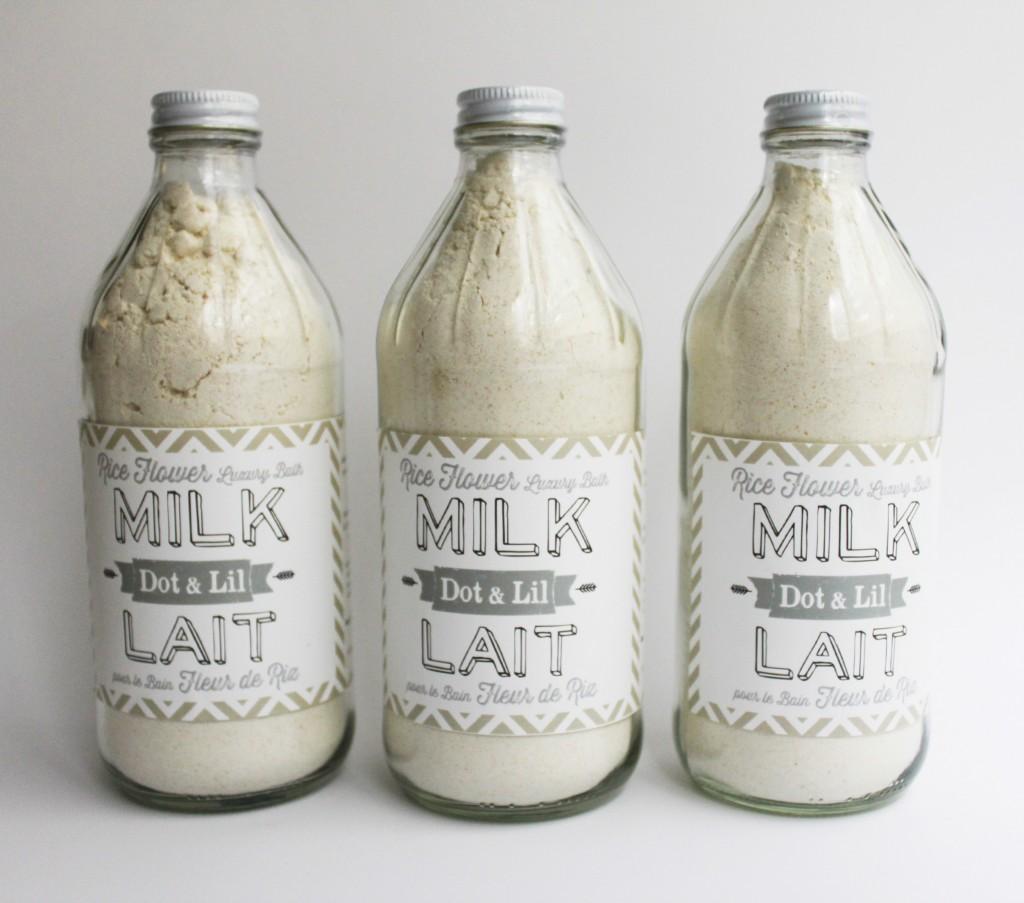 rice flower milk bath