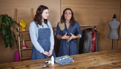 Les possibilités infinies du jeans DIY !