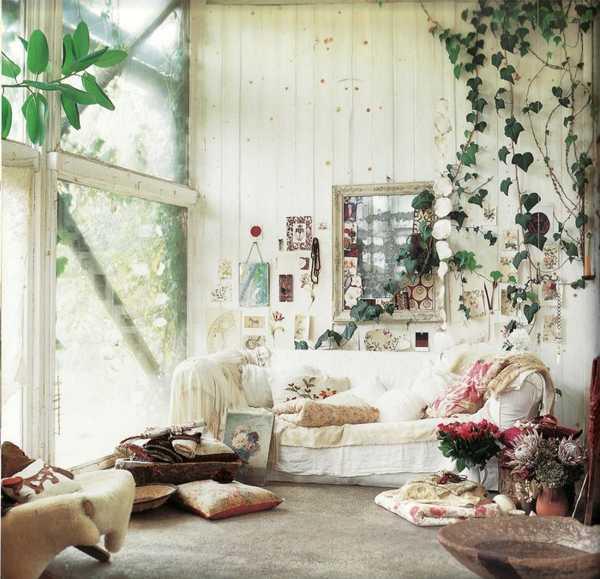 d coration appartement hippie. Black Bedroom Furniture Sets. Home Design Ideas