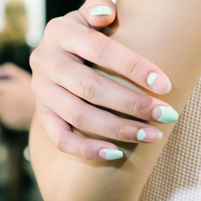 nails at Charlotte ronson new york spring 2015