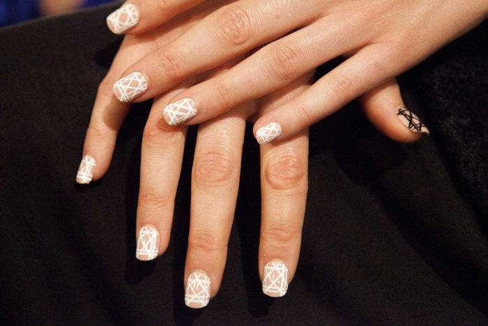 KISS and Broadway Nails for Bibhu Mohapatra Spring 2015 with lead Gina Edwards - photo by Luzena Adams LR1 (700 x 467)