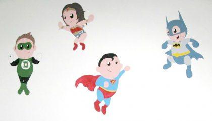 Des supers-héros pour un super bébé!