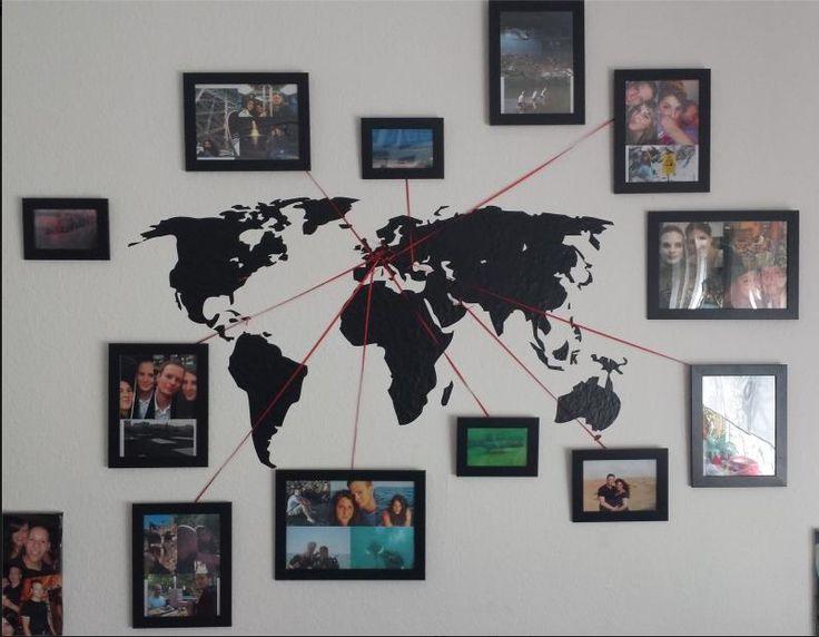 Laisser sa trace sur le monde le cahier - Maison du monde cadre photo ...