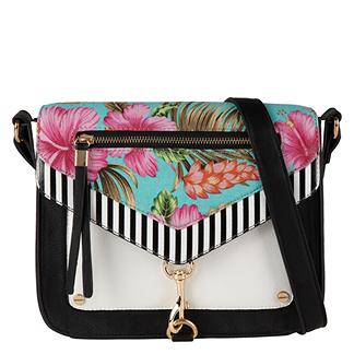 spring, sacoche, été, sac à main, fleurs