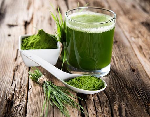 Jus vert, green smoothie