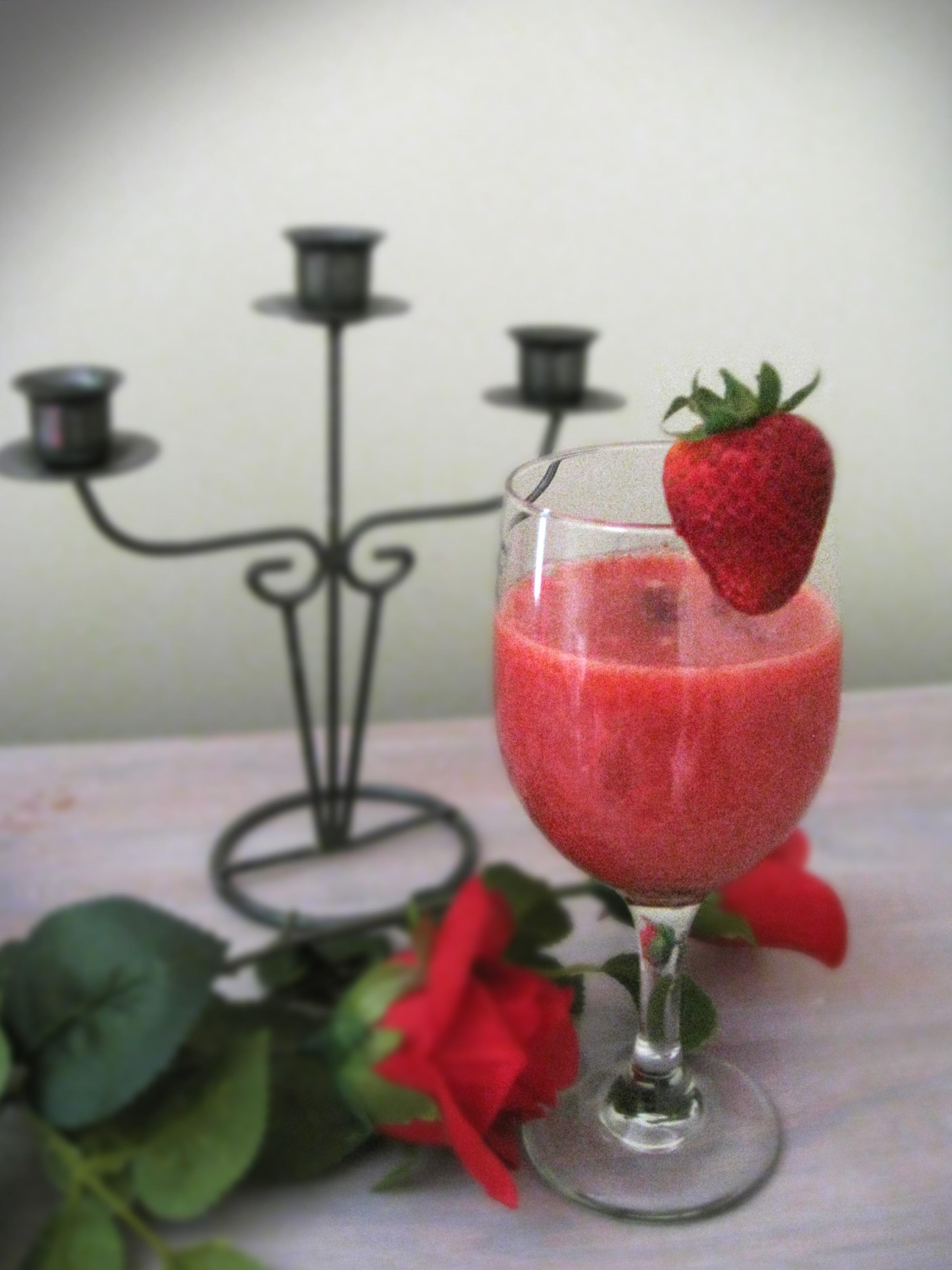 daiquiri, fraises, cocktail