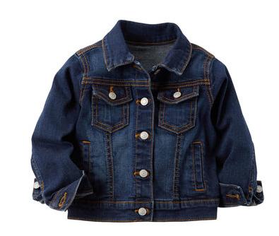 manteau jeans carters, vêtement, enfant