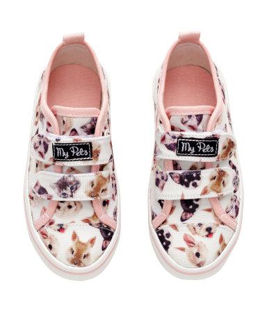 H&M, vêtement, enfant, soulier, chaussure