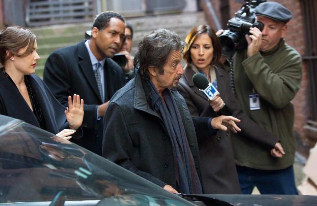 THE HUMBLING - 2015 FILM STILL - Al Pacino - Photo Credit: Christie Mullen