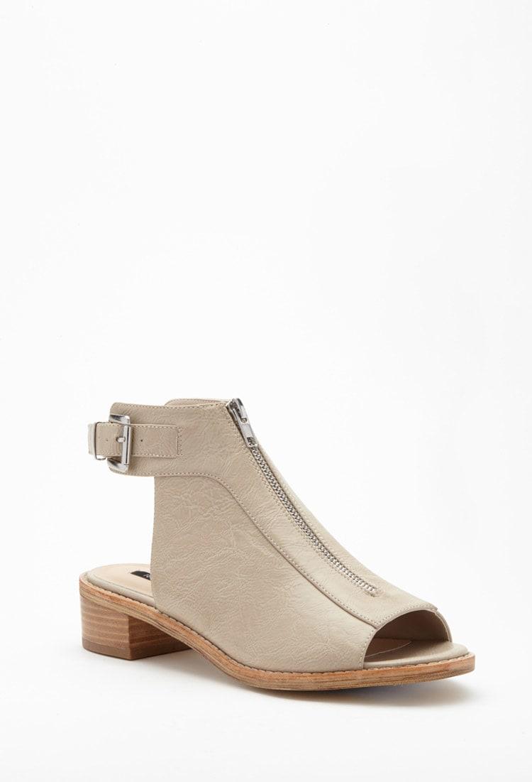 souliers, talons, beige, forever21, talons hauts, sandales, été