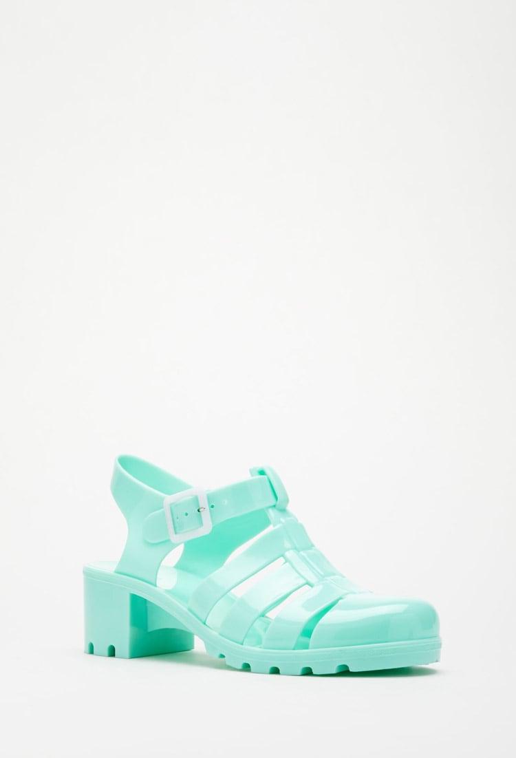 talons hauts, sandales, turquoise, forever 21, été