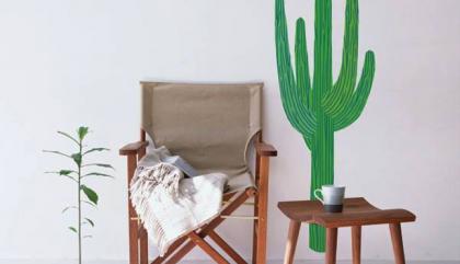 Maison: parce qu'on aime les cactus