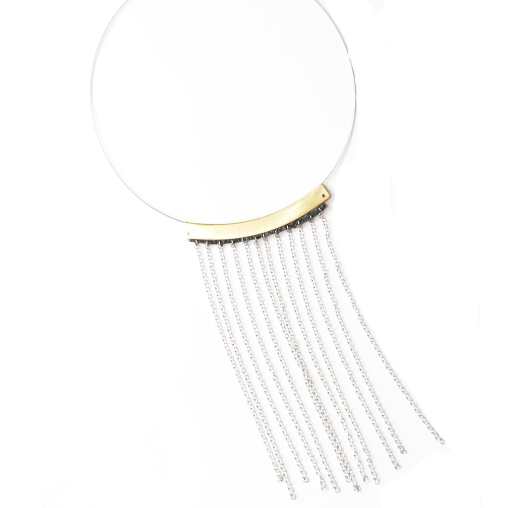 Fringe Love Necklace