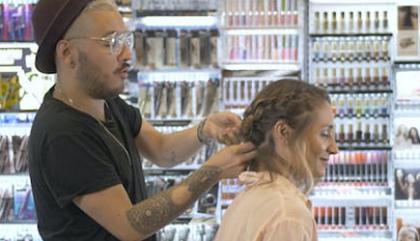 Chronique cheveux: La tresse à noeuds