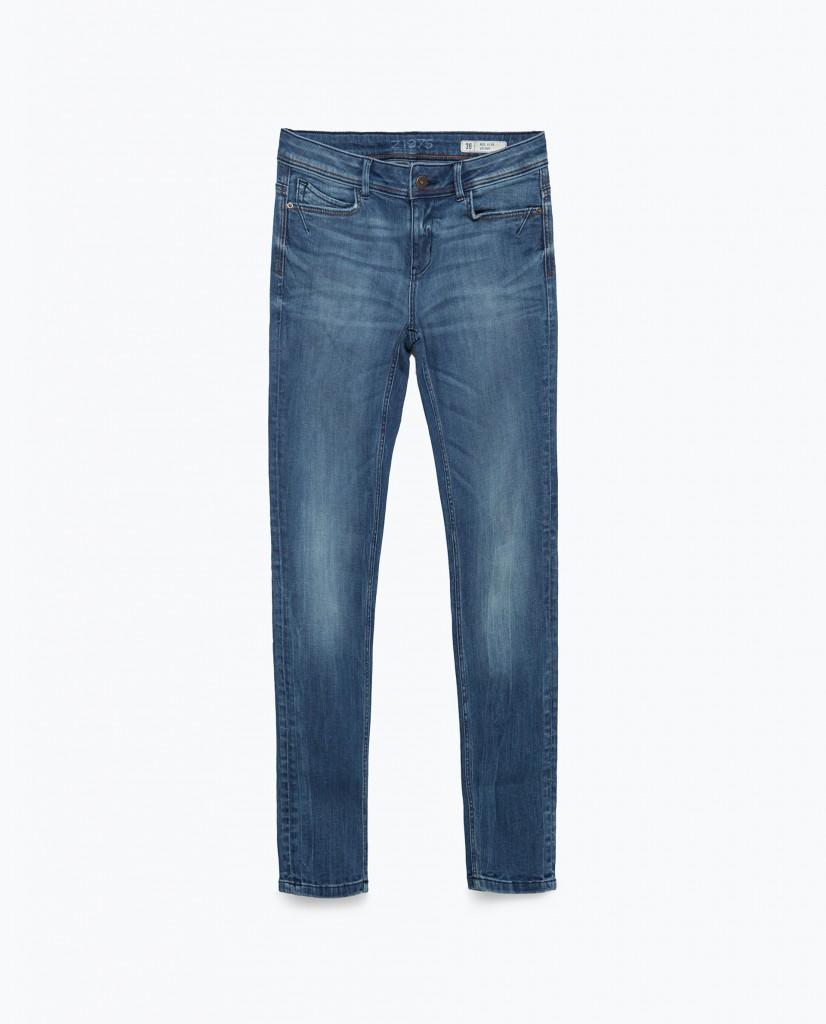 1. skinny jean source zara.com