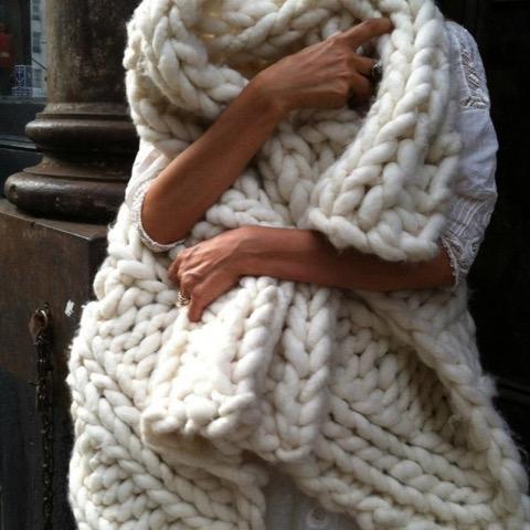 foulard, laine, blanc, automne, chaud, tendance, saison, confortable