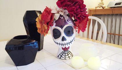 Maison: un salon Halloweenesque