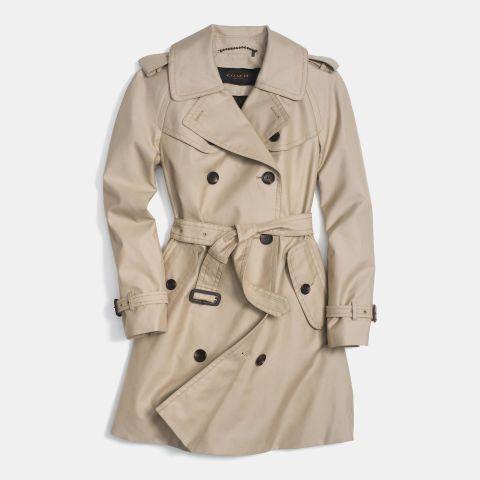 8. Trench coat source elle.com