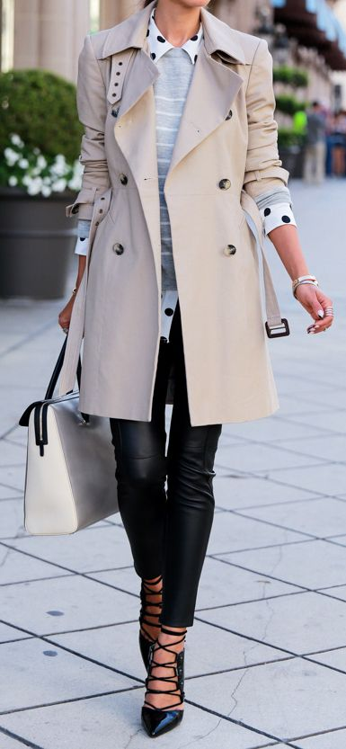 8. Trench coat source vivaluxury.blogspot.hk