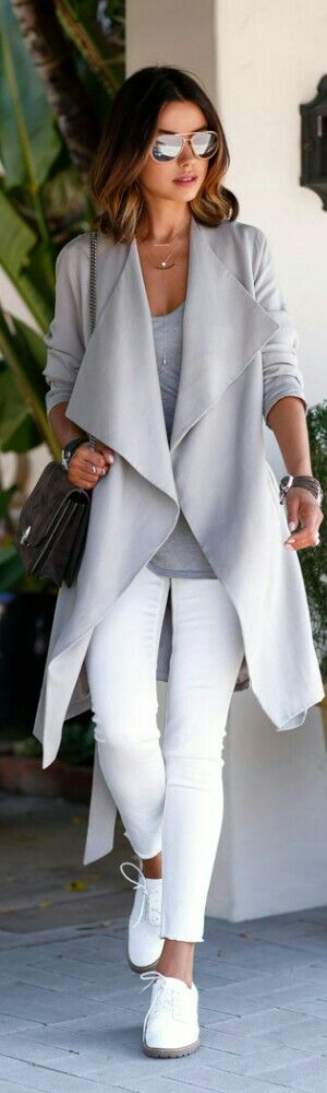 9. Jeans blanc source luvtolook.net