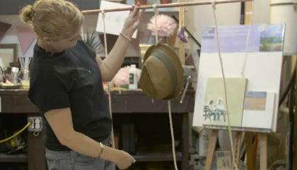 #LeCahierMATV: un porte-chapeau minimaliste